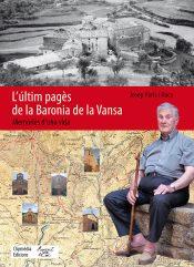 Portada del llibre L'últim pagès de la Baronia de la Vansa de Josep París i Roca